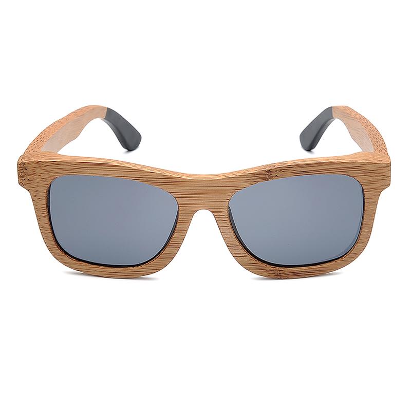 BG007a-Czc-Bamboo polarized Sunglasses for  women and mens retor style  (5)
