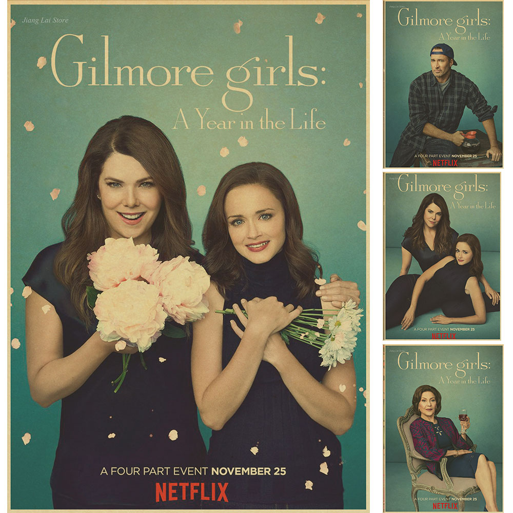 Gilmore Girls Movie Krysten Ritter retro Wall Poster vintage Painting Home Decorative High quality Picture