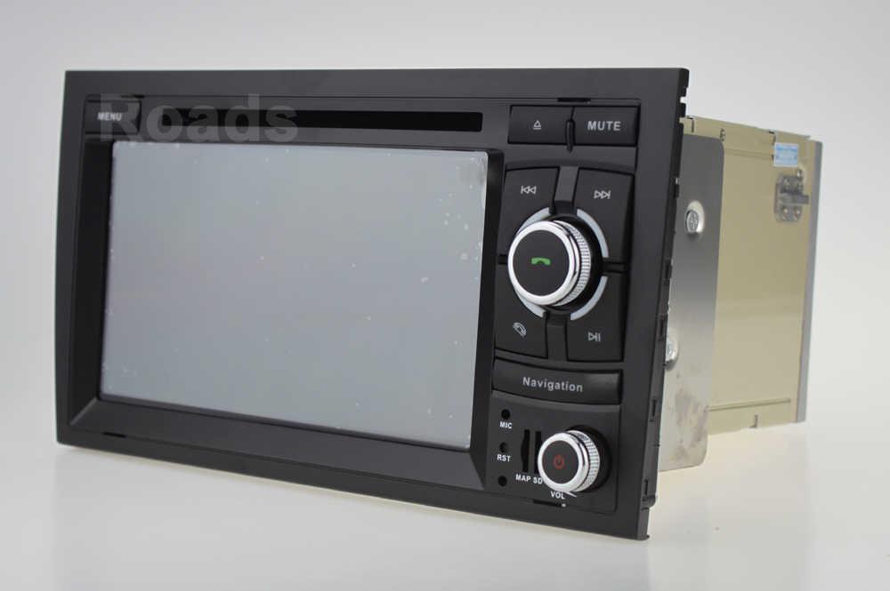 DSP 64G 9 PX6 Android Stereo Car DVD Player Rádio Navegação GPS para Audi A4 B6 B7 S4 B7 b6 RS4 B7 SEAT Exeo