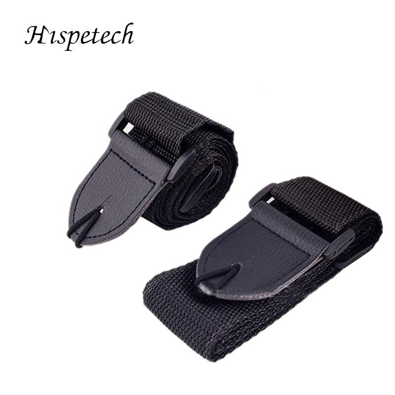 HISPETECH 38 Inch Guitar Accessories Width 50mm Pure Cotton Guitar Strap Drop Protection Urable Guitar Straps Part Black