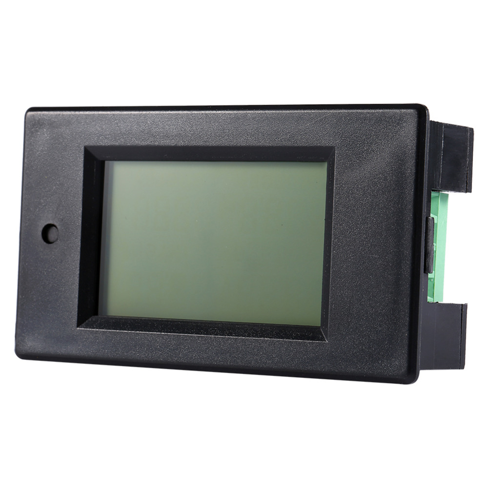 Electrical Instruments Dc 50a Digital Lcd Power Meter Monitor Power Energy Voltmeter Ammeter 12v 24v