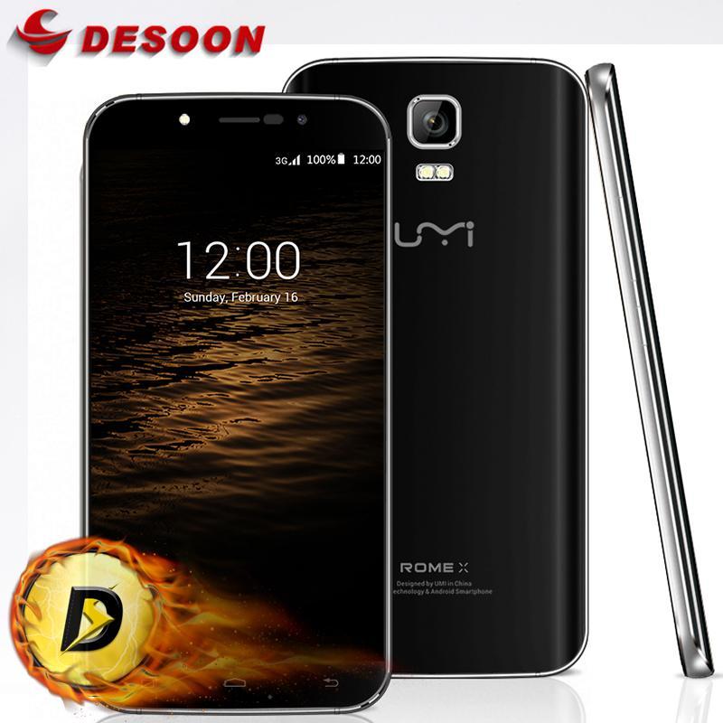 "bilder für Original umi rom x smartphone 5,5 ""android 5.1 mtk6580 quad core 1,3 ghz 1280x720 p 8.0mp handy umidigi"
