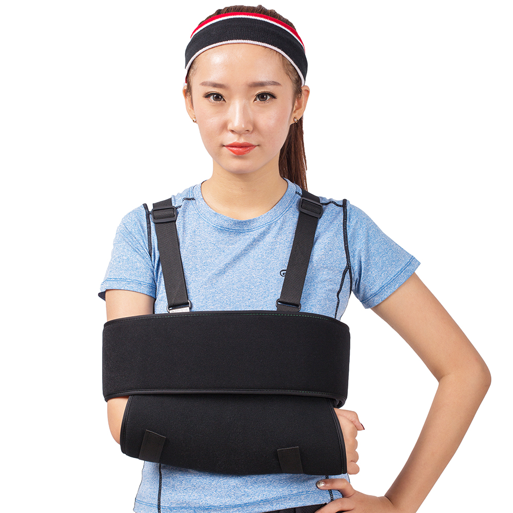 Orthopedic Medical Arm Sling Shoulder Immobilizer Rotator Cuff Wrist Elbow Forearm Support Brace Strap with Soft Comfortable Pad