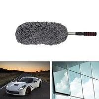 يونيفرسال السيارات السيارات أدوات التنظيف فرشاة سيارة خرقة تنظيف الغبار ستوكات سيارة تنظيف خرقة فرشاة كبيرة مكتب المنزل نافذة الرمادي