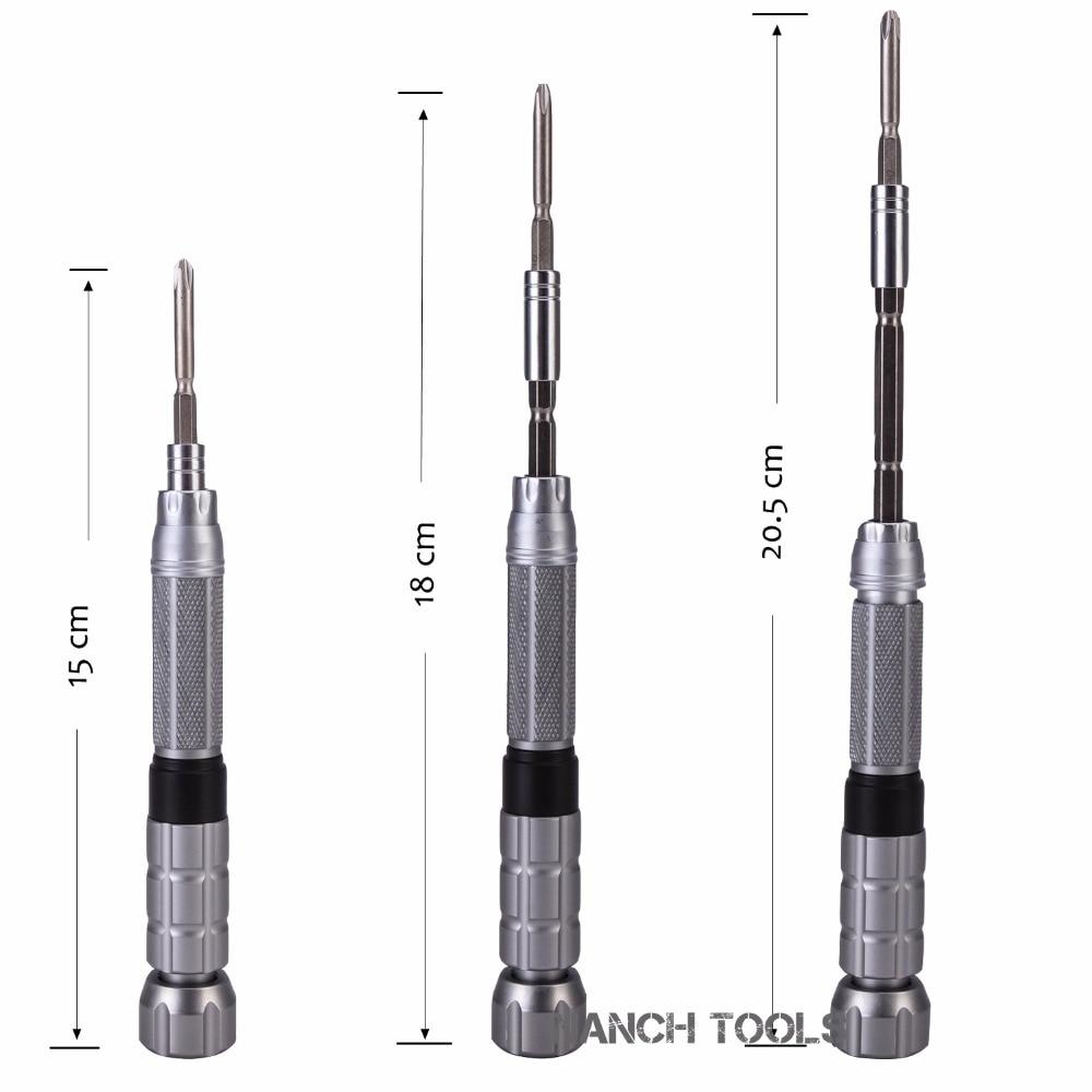 Kit di riparazione per telefono set di punte per cacciavite magnetico - Utensili manuali - Fotografia 5