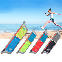 Travel Running Bag Waist Pouch Bum Fanny Pack Purse Belt Hiking Zip Sport Running New arrival