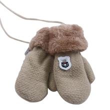 Теплые вязаные кашемировые перчатки для мальчиков и девочек, которые сделают вас более милыми, высококачественные варежки для детей#38
