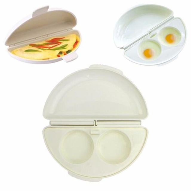 1PC Multifunctional Microwave Omelet Cooker Pan Breakfast Eggs Omelette Steamer Home Kitchen Gadgets Tools 5