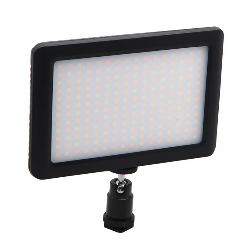 12W 192 LED Studio Video Continuous Light Lamp For Camera DV Camcorder Black