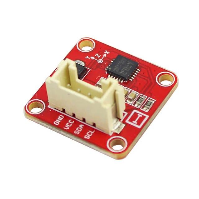 Elecrow Crowtail MPU6050 accéléromètre gyroscope Module bricolage Kit de capteur avec câble