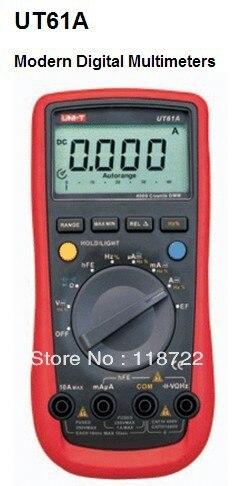 ФОТО UNI-T UT-61A Modern Digital Multimeters UT61A AC DC Meter