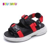 Summer boys sandals girls shoes soft bottom kids beach breathable comfort children non-slip sports