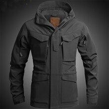 США Великобритания M65 наружная ветровка куртка с внутренней мягкой оболочкой Мужская ветровка армейская Тактическая Военная утолщенная зимняя куртка