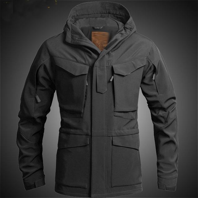 fb5b48b2712 US UK M65 Outdoor Windbreaker Jacket with Inner Soft Shell Men Windbreaker  Jacket Combat Tactical Military Thicken Winter Jacket