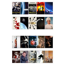1 PCS 2001 A Space Odyssey Movie Theme Poster DIY Waterproof Sticker Post It Decoration Scrapbooking Bullet Journal Stickers(China)