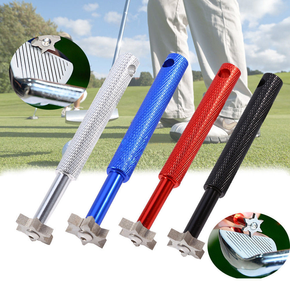 Golf Accessories Golf UV Groove Edge Iron Wedge Club Sharpener Regrooving Cleaner Cleaning Tool Spor Aletleri Golf 2019 New