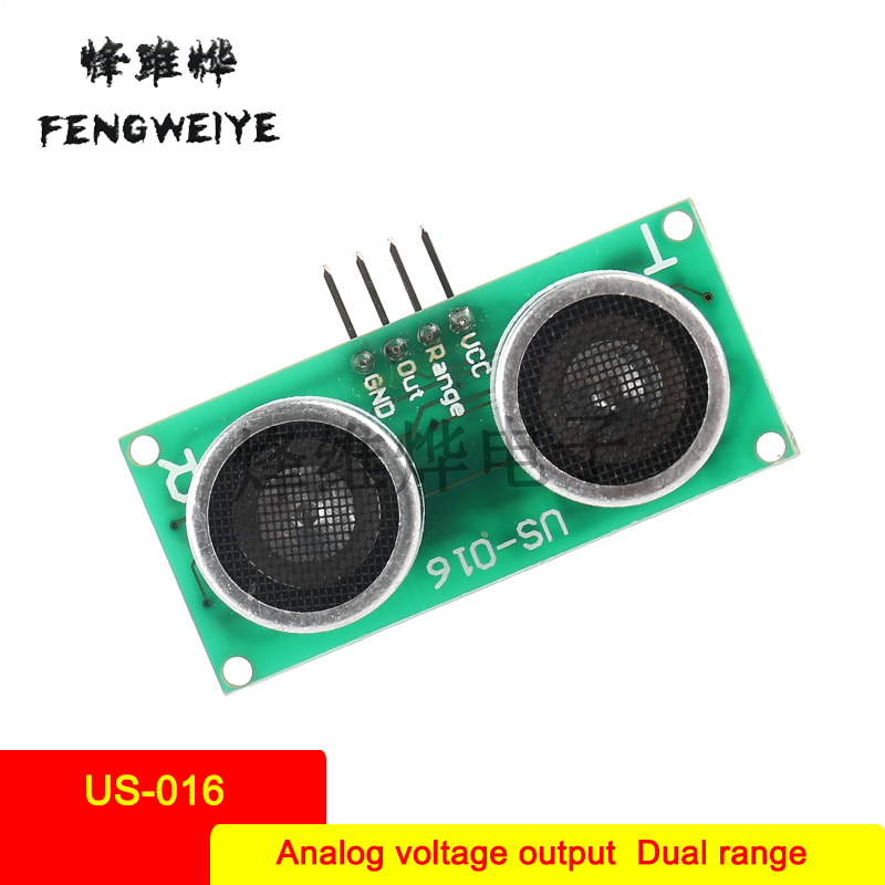 Panel US 016 Analog Voltage Output Dual Range Analog Ultrasonic Ranging Module High Precision Warranty