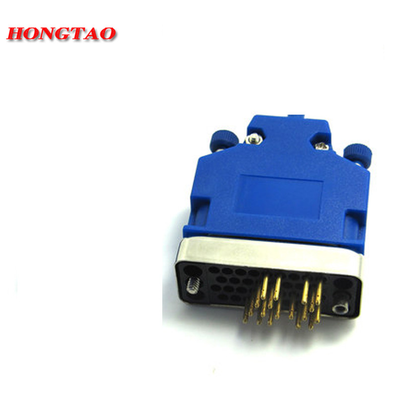 NEW V35 male adapter used for WIC-1T test for router switch module HWIC-2T Router Firewall New Blue Freeshippping