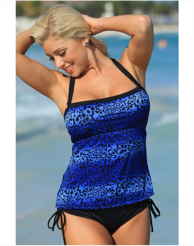 a266f7642 Women Swimwear Large Size Bikinis Women s 2018 Sex Tankini Swimsuits Two  Piece Suits Departure Beach Swimsuit Bathing Suits-in Body Suits from  Sports ...