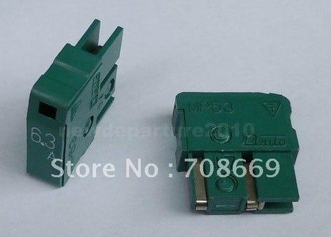 10 шт Новый предохранитель Дайто MP63 6,3 а
