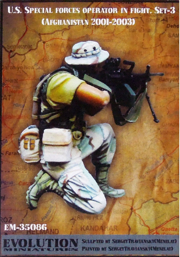 1/35 U.s. Special Forces Operator In Fight Modern Soldier Resin Figure Soldiers Gk Uncoated No Colour