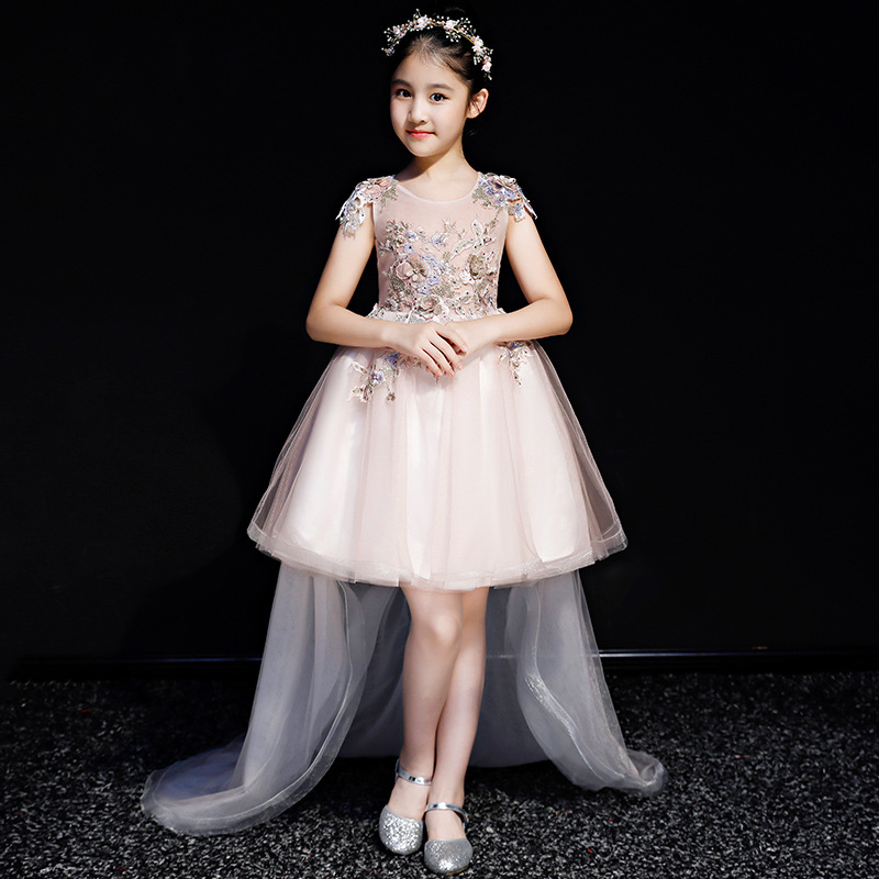New Teenage Girls Embroidery Tutu Princess Dress Kids Dresses For Girls Wedding Birthday Party Baby Girl Clothing Vestidos S67New Teenage Girls Embroidery Tutu Princess Dress Kids Dresses For Girls Wedding Birthday Party Baby Girl Clothing Vestidos S67