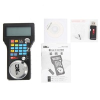Cnc Mach3 Machine Wireless 4 Axis Remote Handwheel To Control Mach3 Cnc Machine LCD