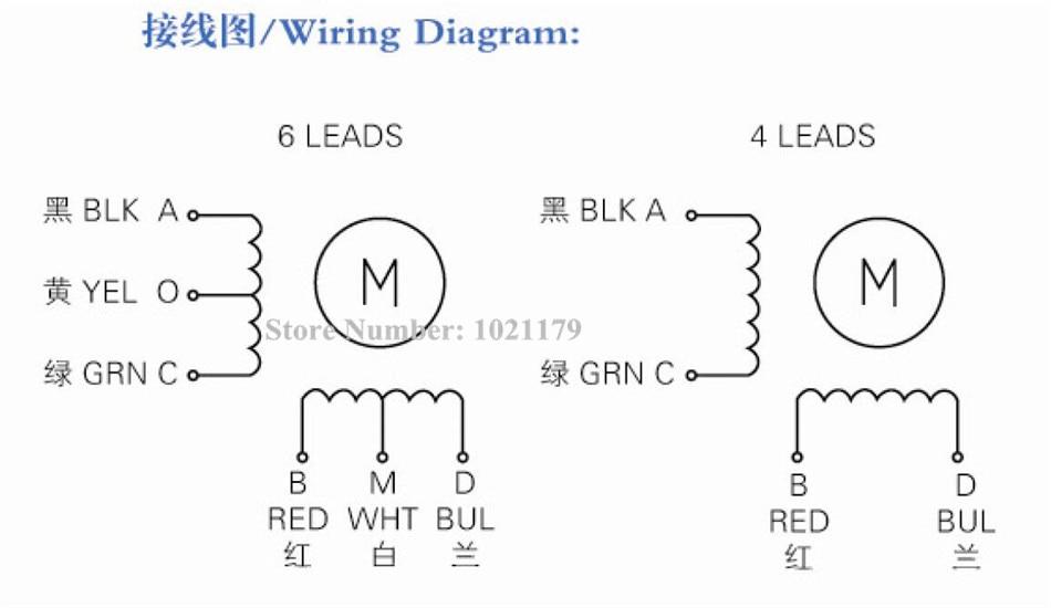 5pcs/lot Nema 17 stepper motor 4 lead Nema 17HS4401 1.7A 2 phase 42 on nema 17 wiring-diagram cnc, nema 17 stepper motor controller, nema 17 stepper motor cable, nema 17 bipolar stepper motor, nema 17 stepper motor driver, nema 17 stepper 5 8oz wiring-diagram,