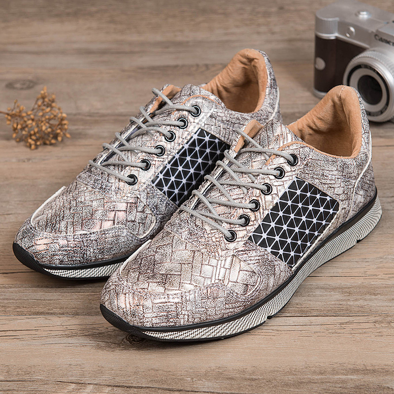 ФОТО 20162016 New Arrival Wholesale Hot Sale Spring fashion Mens Shoes shoes for Mens leather Casual Breathable Shoes flats Free