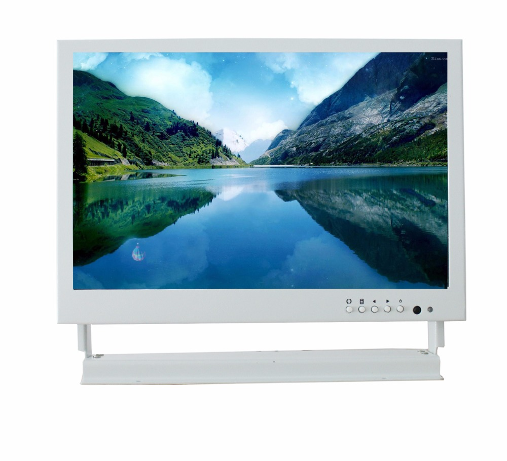 10.1 inch BNC HDMI VGA iron AV interface HD LCD monitor computer monitor industrial security 10inch metal shell bnc hdmi vga av interface hd monitor display lcd computer monitors