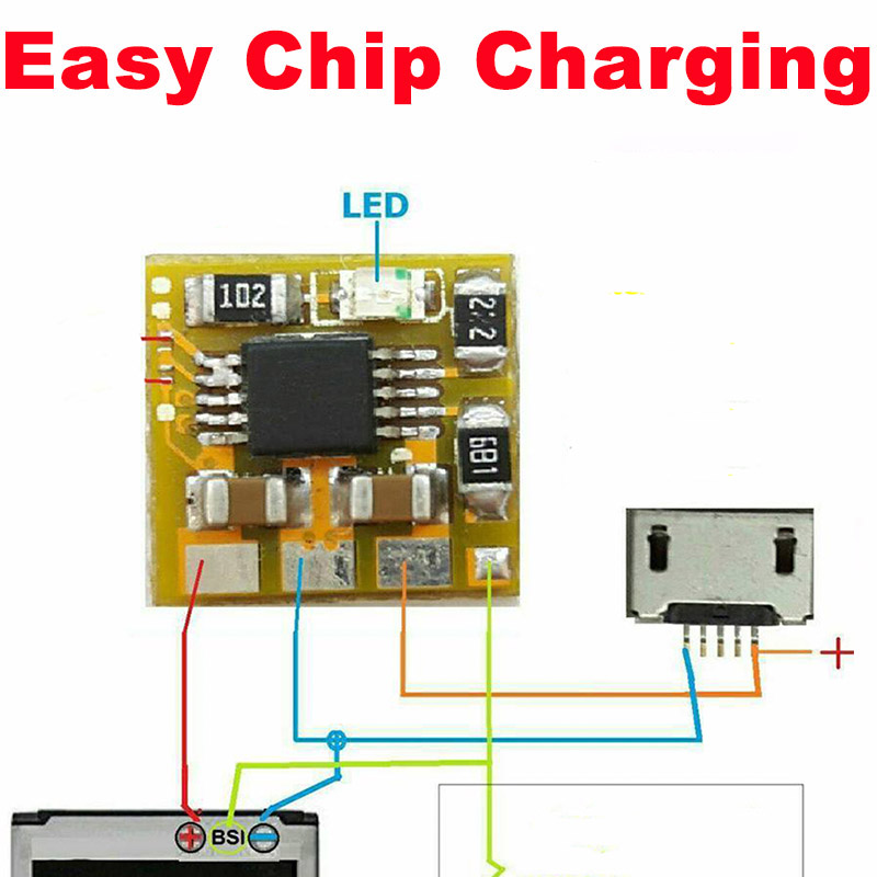 Problem Easy-Chip Good-Working Charge Tablets All-Mobile-Phones Fix for Pcb Ic ECC ECC