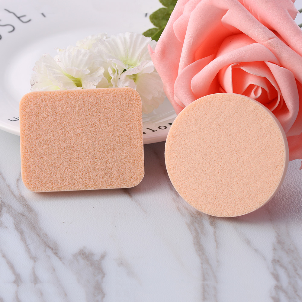 5 PCS/lot Soft Sponge Smooth  Puff Sponge Cosmetic Foundation Facial Face Cosmetic Accessories Lady Beauty Makeup Tools