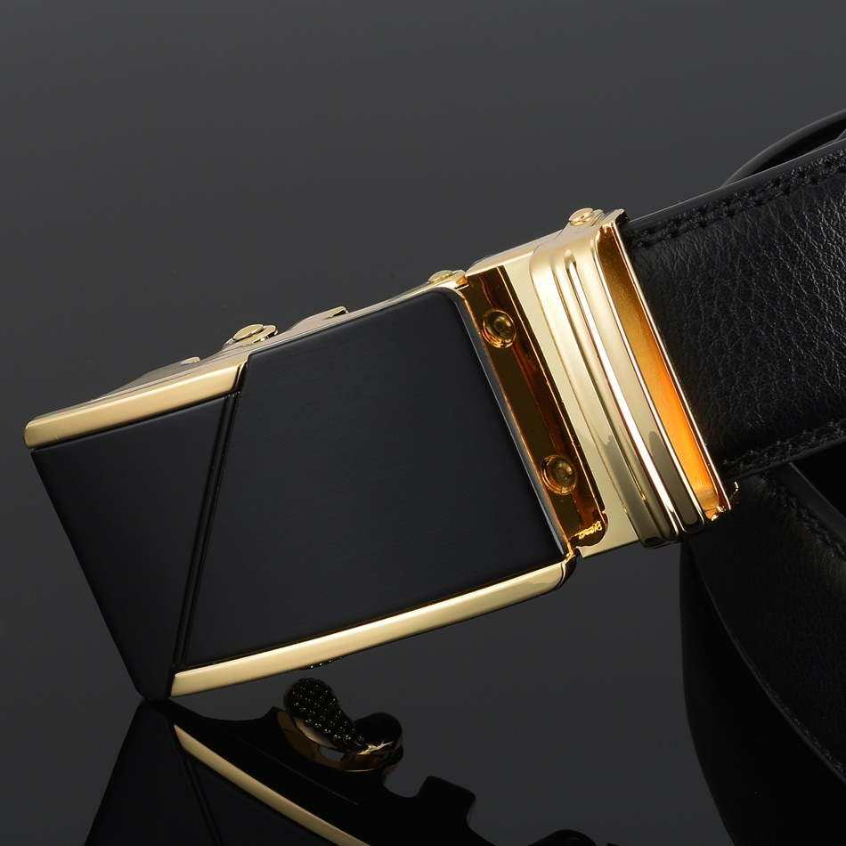 WOWTIGER Դիզայներ Luxury կաշվե ժապավեն - Հագուստի պարագաներ - Լուսանկար 4