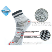 2017 New Unisex Thermal Casual Winter Warm Socks Mens & Womens Outdoors Comfortable Sock Coolmax Free Shipping