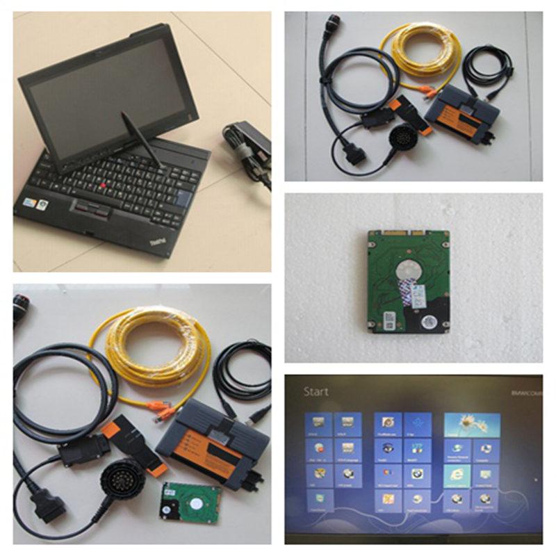 Beste Für Bmw Icom A B C Mit Laptop X200t (4g) + Neueste Icom A2 Software 2018,09 V 500 Gb Hdd + Diagnose & Programmierung Werkzeug Für Bmw