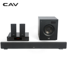 CAV W8 Home Theater 5.1 DTS Bluetooth 4.2 EDR 3 Sound Modes Music Center Soundbar Subwoofer Surround Combination Home Theater