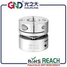 Flexible shaft coupling cardan GND aluminum D26 L26 single 5 8mm diaphragm clamp  for CNC hollow shaft encoder stepmotor connect недорого