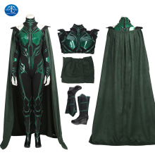 MANLUYUNXIAO Movie Thor 3 Thor Ragnarok Cosplay Costume Hela Cosplay Costume Sexy Women Halloween Costumes Custom Made