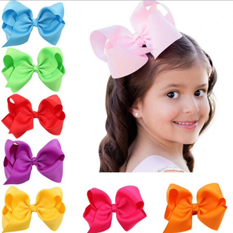 1PCS hairbows Ribbon bow hair clip hairclip Boutique Handmade Hair Bow prendedor de cabelo 12 colors