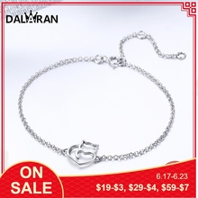 DALARAN Featured Brand Charm Cute Cat Bracelets Bangles Dazzling 925 Sterling Silver For Women Creative Jewelry Girlfriend Gift