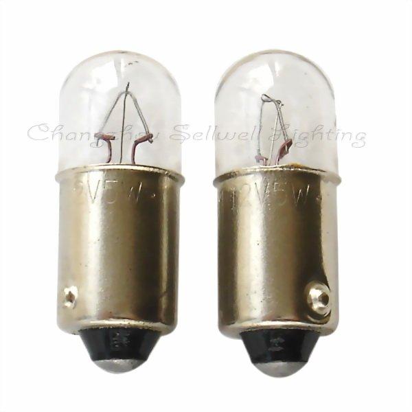 Sellwell Lighting Skvělá miniaturní lampa Ba9s T10x23 12v 5w A029