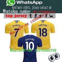 b1e40145 18 19 Chelsear KANTE Chelsea soccer shirt 2018 2019 Chelsear home shirts  PEDRO LUIS CHELSEA FALCAO