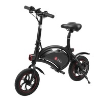 Max. Speed 30km/h Electric Bicycle Folding Mini E Bike Aluminum Electric Cycling 250W 36V Unisex E Bike EU Plug
