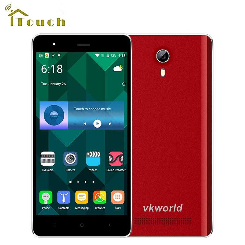 Цена за Оригинал VKWORLD F1 3 Г Смартфон Android 5.1 MTK6580 Quad Core 4.5 дюймов IPS Экран 1 ГБ RAM 8 ГБ ROM WCDMA 5 МП КАМЕРОЙ Мобильного Телефона