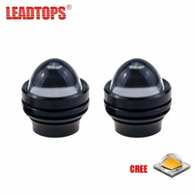 LEADTOPS 2X Super Bright LED Eagle Eye Daytime Running Light DRL font b Lamps b font