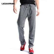 Men Running Pants Sport Pants Jogging Pants Gym Trousers Football Training Sweat Sportswear Loose Straight 801-089(China)
