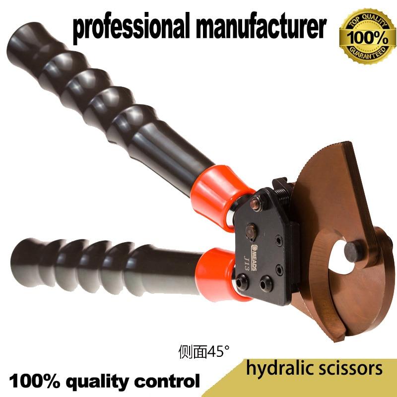 Инструмент для обжима ножницы для резки кабеля медный канат ручной резак трещотка провода кабель для резки проволоки зажим для резки меди