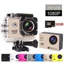 Nueva GOLDFOX SJ4000 Wifi 1080 p HD Acción Cámara de Vídeo A Prueba de agua Helemt Cam Sport DV Cámara Del Deporte Videocámara Del Coche DVR Agregar Tarjeta de 32 GB