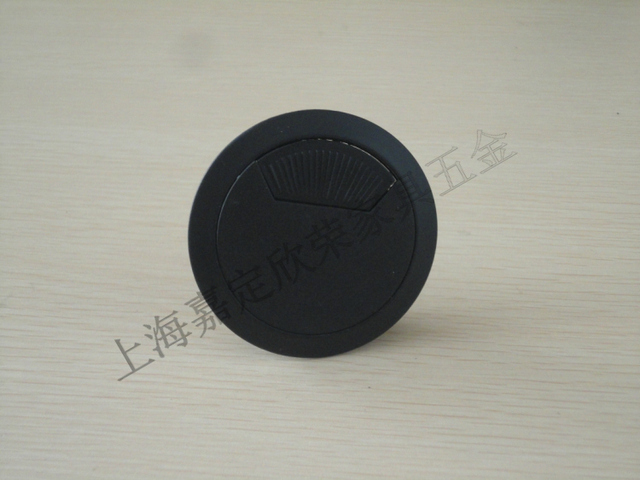 Furniture Hole Cover #39 - 7*7mm Metal Round Grommet Wire Cable Hole Cover For Computer Desk Line Box