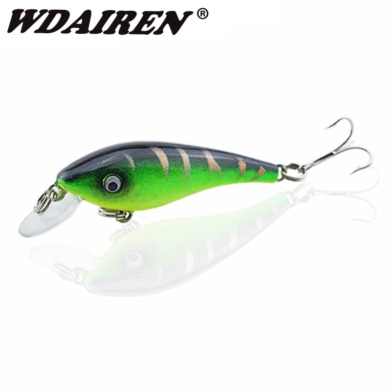 1Pcs 5.7cm/4.5g Topwater Wobblers Fishing Lures Tackle Swim Bait Fishing Japan Hard Crazy Bass Crankbait Fish Tackle WD-320